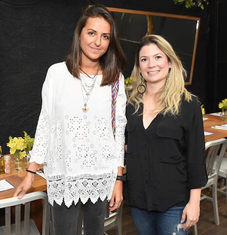 Luciana Moraes e Andrea Sabino