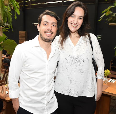 Raphael Chiorino e Heloisa Goldman