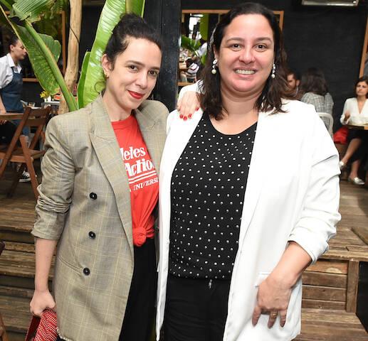 Renata Corrêa e Silvia Rogar
