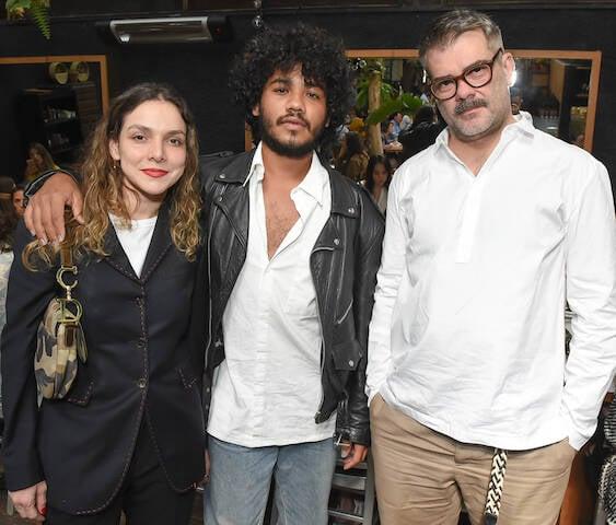 Yasmine Sterea, Rafael Pavarotti e Cristian Resende