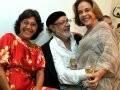 """ANIVERSÁRIO JOSÉ HENRIQUE E TATIANA QUINTELLA"" — NEY LATORRACA ENTRE MARIZA LEÃO E REGINA RIQUE /Foto: Cristina Granato"