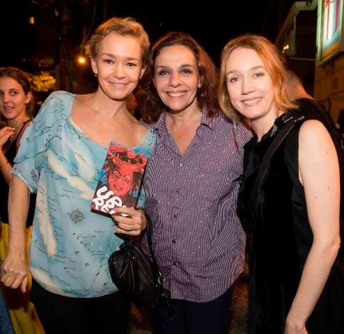 Julia Lemmertz, Rosi Campos e Camila Morgado