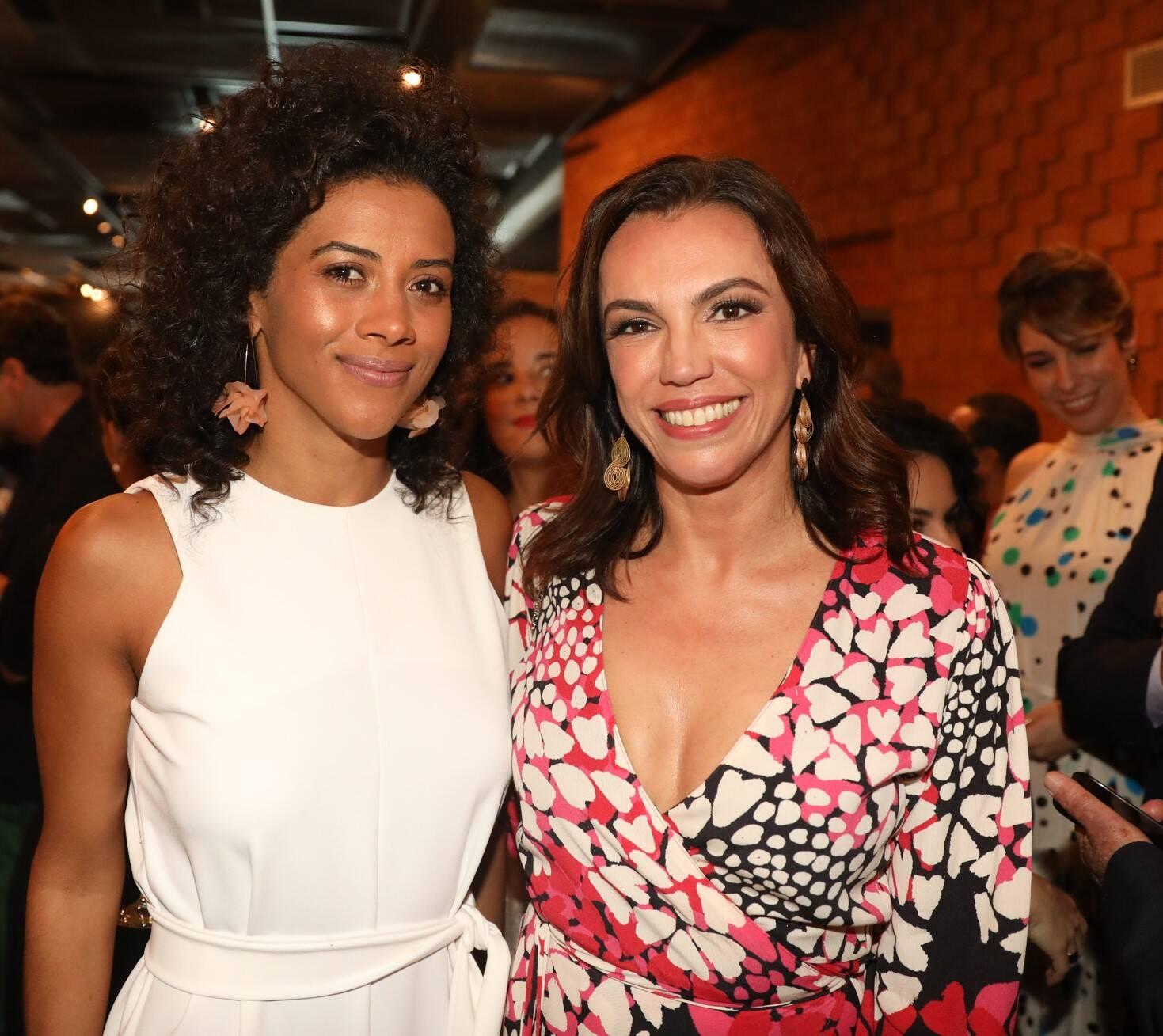 Aline Midlej e Ana Paulo Araújo /Foto: TV Globo /João Cotta e João Miguel Jr.