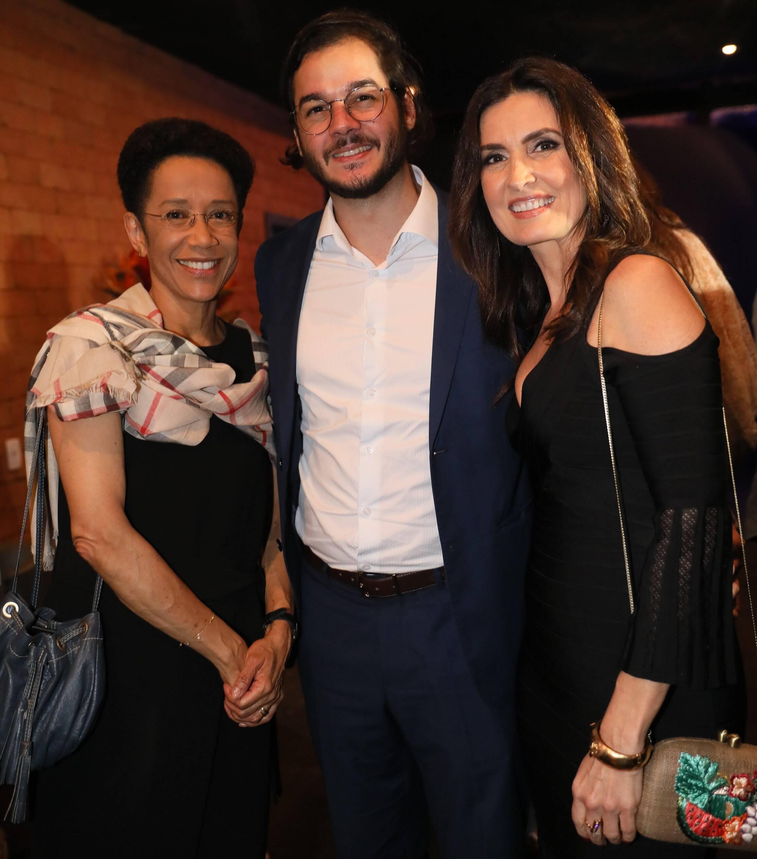 Zileide Silva, Tulio Gadelha e Fatima Bernardes  /Foto: TV Globo /João Cotta e João Miguel Jr.