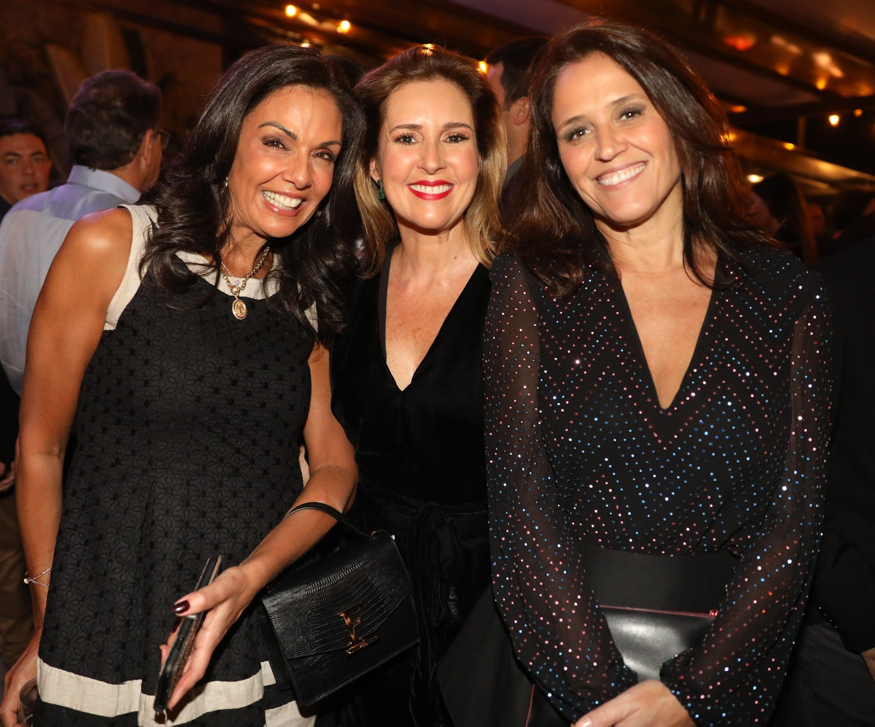 Cristina Ranzolin, Renata Capucci e Ana Luiza Guimarães  /Foto: TV Globo /João Cotta e João Miguel Jr.