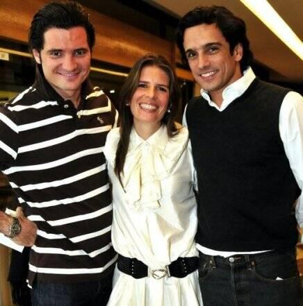 """SESSÃO DA TARDE"" — FELIPE BARAHONA, JOANA BRAGA E LUIZ TEPEDINO /Foto: Cristina Granato"