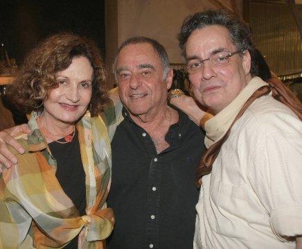 """ALBERTA"" — ROSAMARIA MURTINHO, DAVID CHREEM E LESSA DE LACERDA /Foto: Vera Donato"