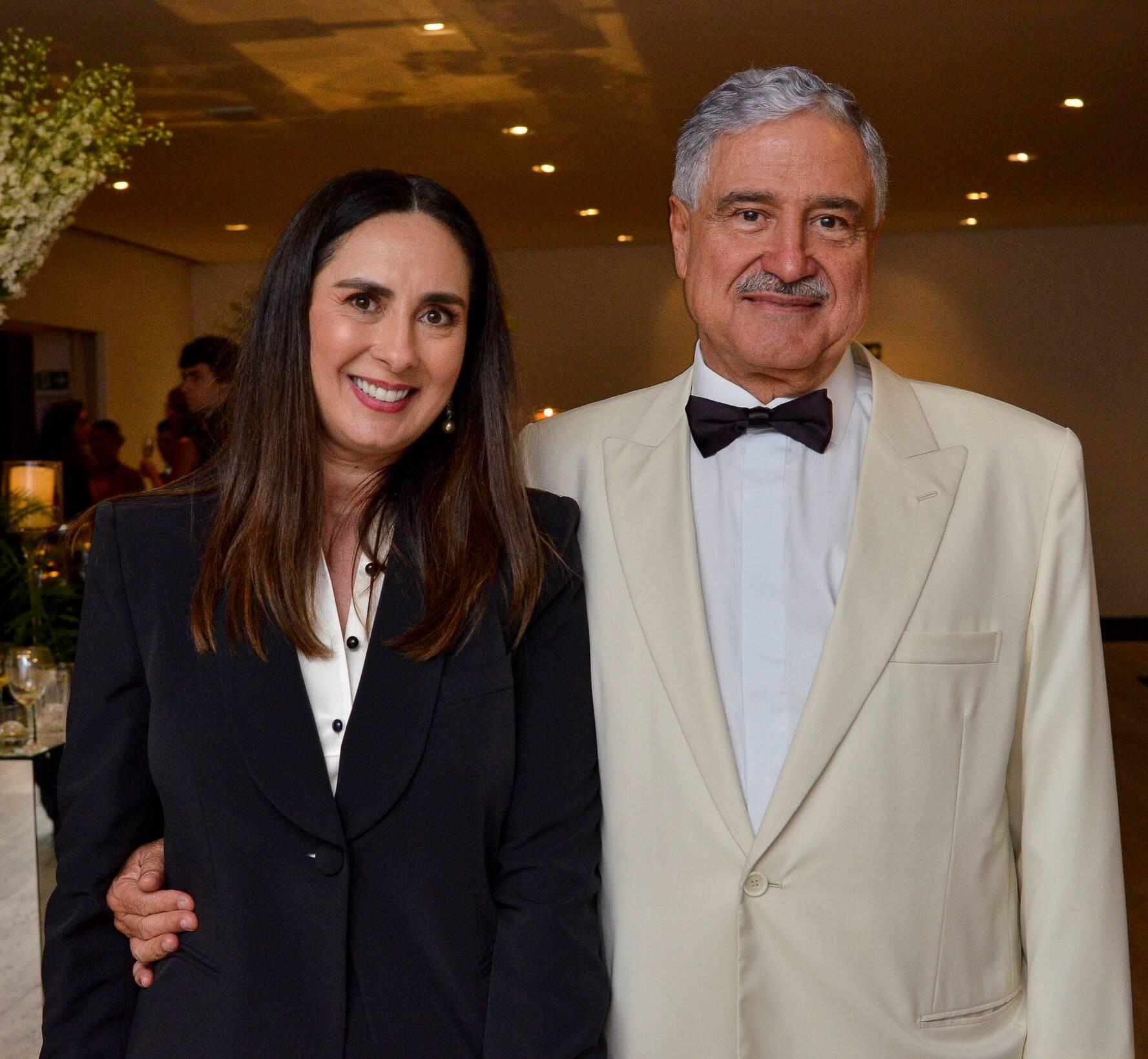 Claudia Bork Saad e João Carlos Saad /Foto: João Sal e Bruna Guerra