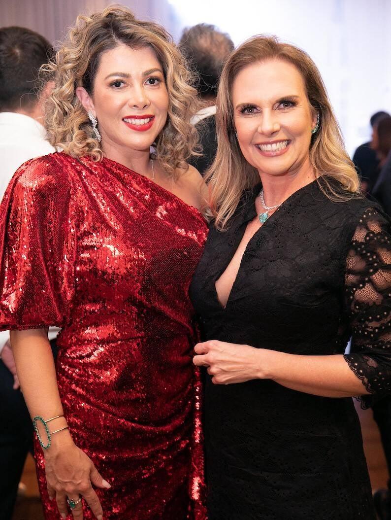 Claudia Martinez e Simone de Mendonça /Foto: Miguel Sá