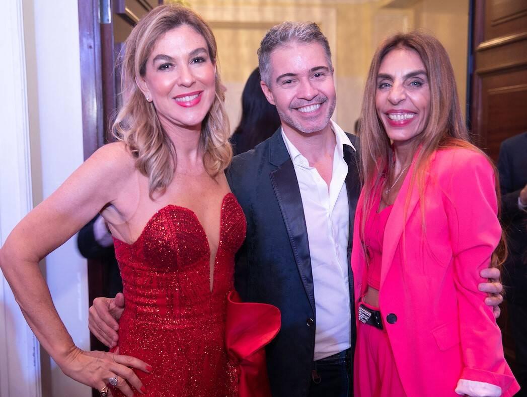 Bete Floris, Jayme Drummond e Patricia Bosio /Foto: Miguel Sá