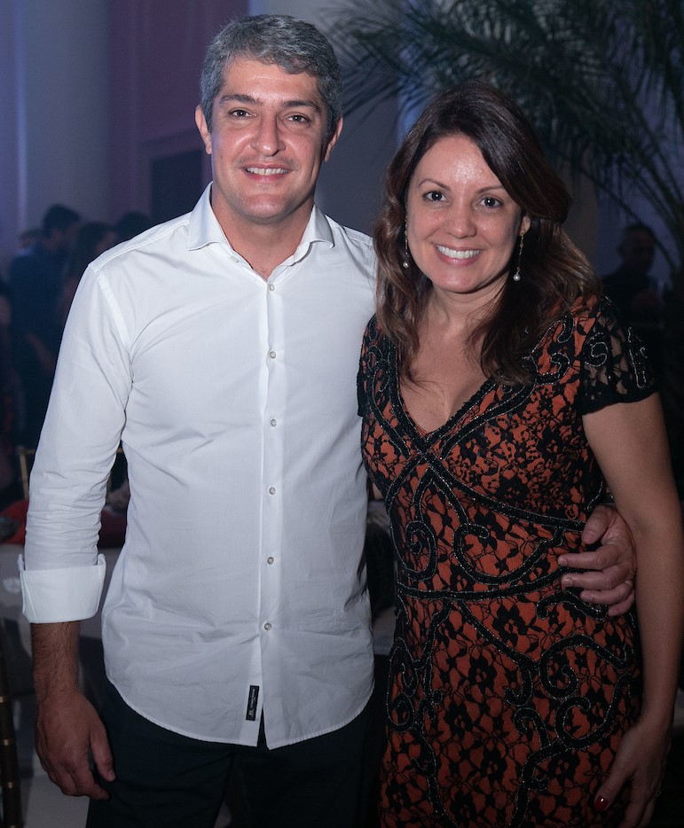 Eduardo e Joyce Schmidt /Foto: Miguel Sá