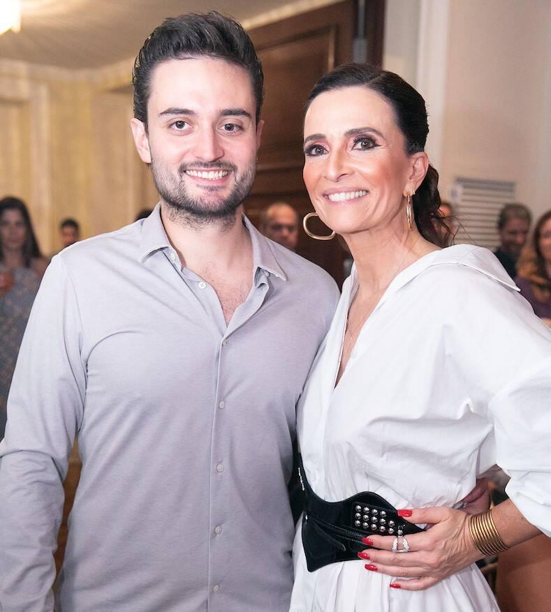 Louis com a mãe, Andrea Natal /Foto: Miguel Sá
