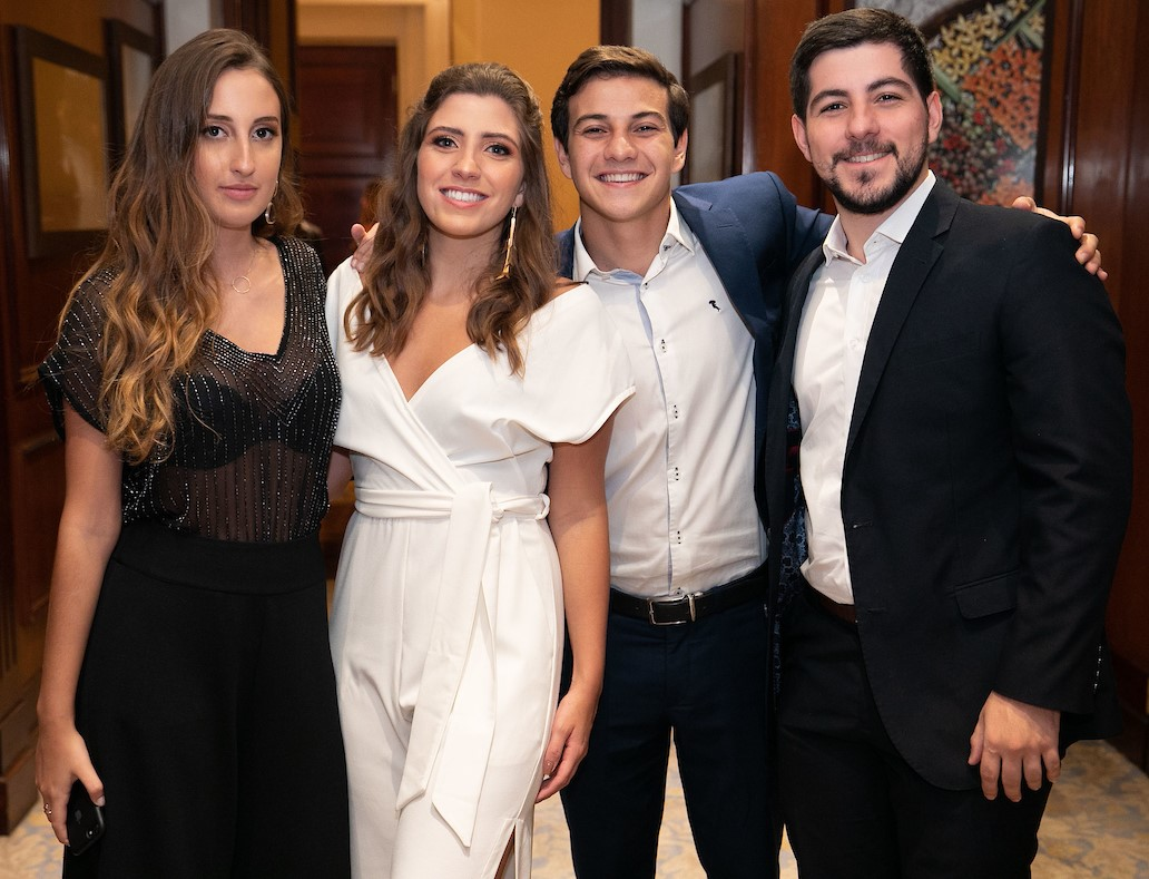 Manuela Krug, Silvia Costa, Fernando Roitman e Pedro Henrique Costa /Foto: Miguel Sá