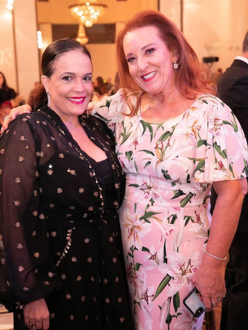 Marcia Kemp e Priscilla Levinsohn /Foto: Miguel Sá