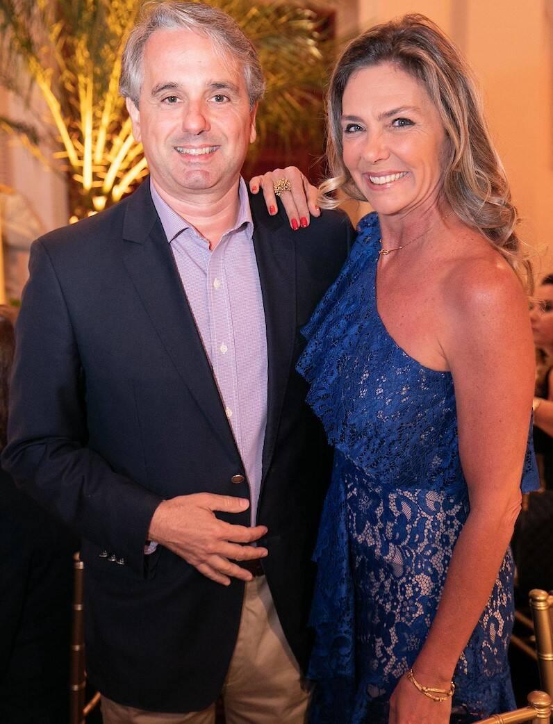 Pedro Nelson de Senna e Marcia Verissimo /Foto: Miguel Sá