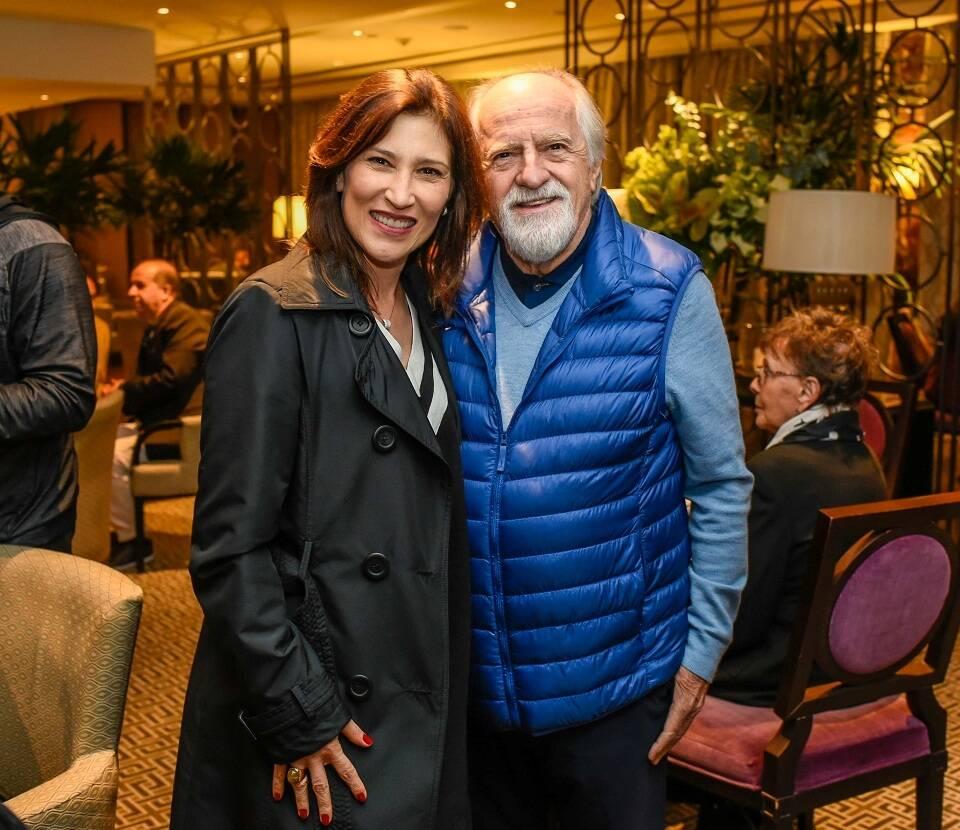 Beth Goulart e Ary Fontoura / Foto:  Mariama Prieto