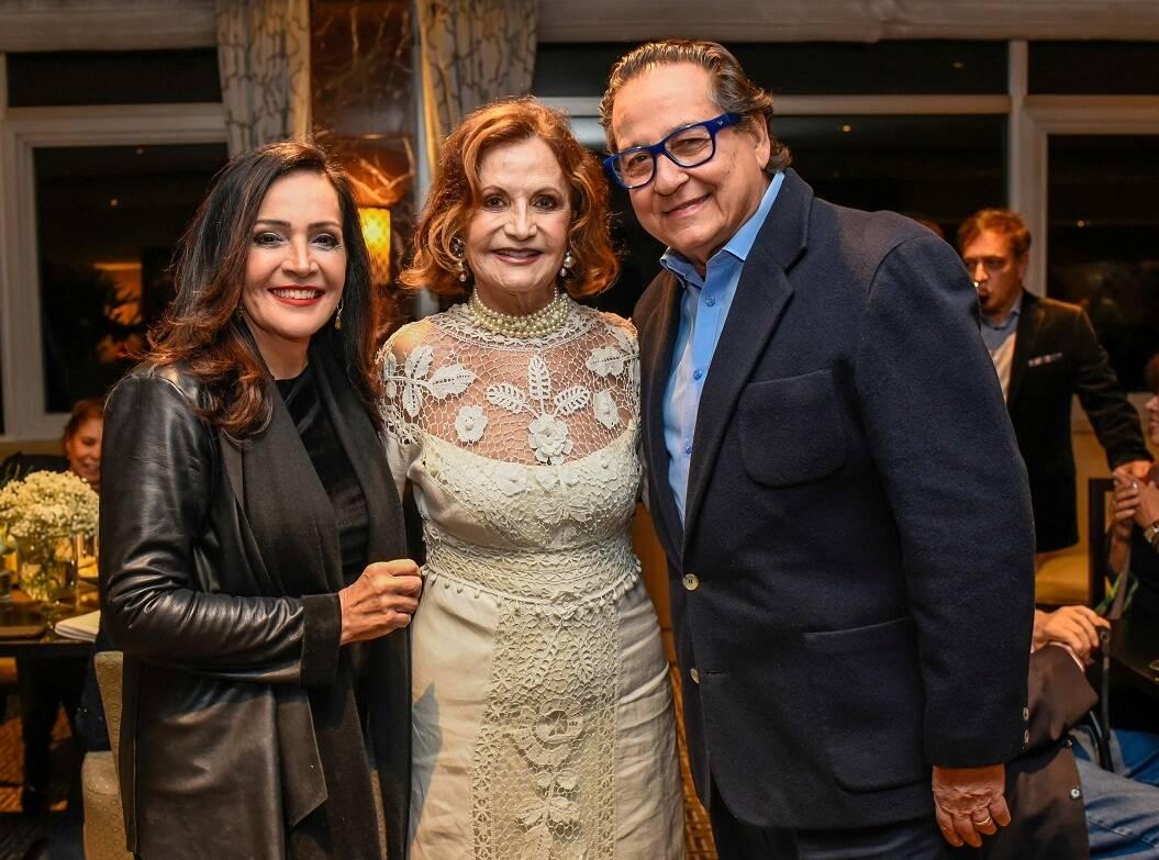 Liliana Rodriguez, Rosamaria Murtinho e Nestor Rocha / Foto:  Mariama Prieto