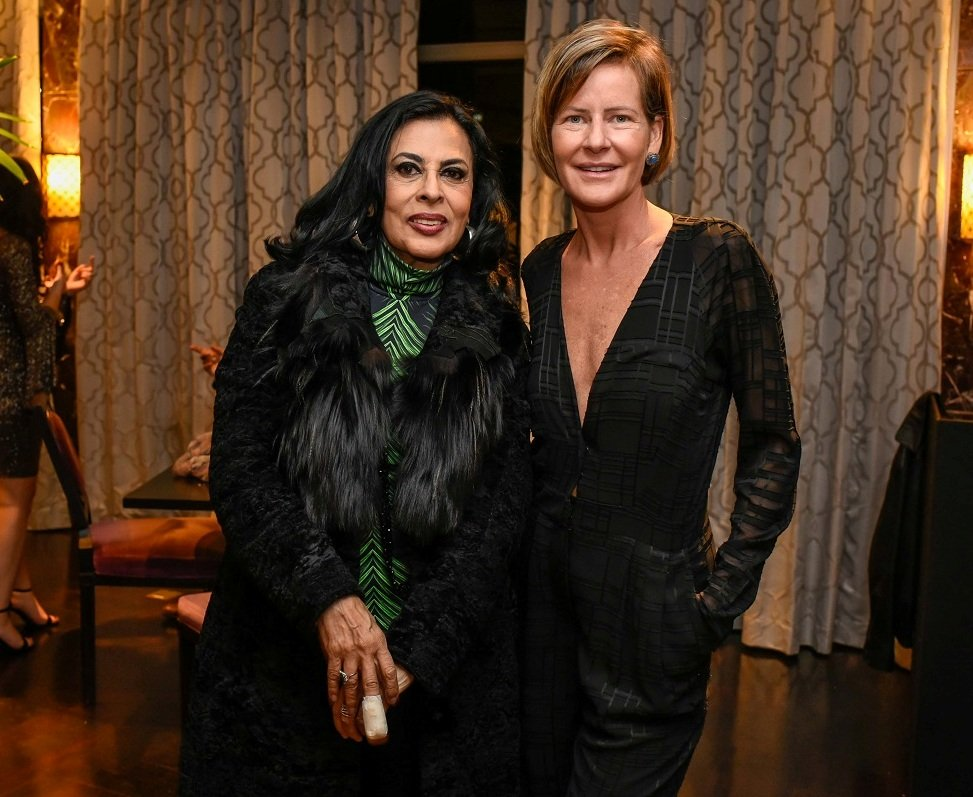 Maria Luisa Mendonça e Tatiana Mendonça (2) / Foto:  Mariama Prieto