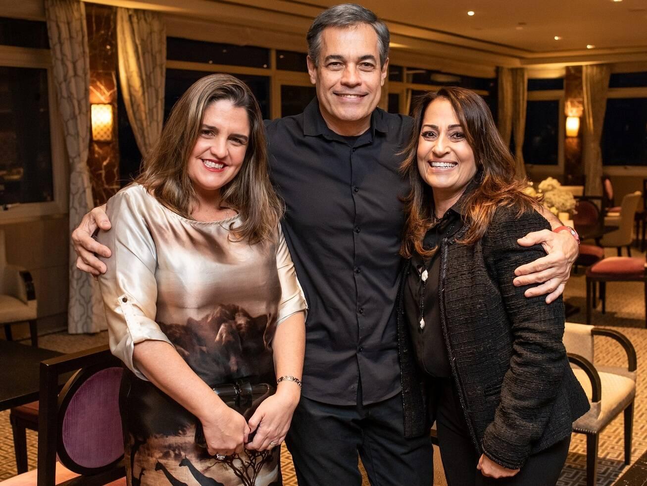 Mariana Nogueira, Alexandre Cappelli e Luciana Josetti / Foto:  Mariama Prieto