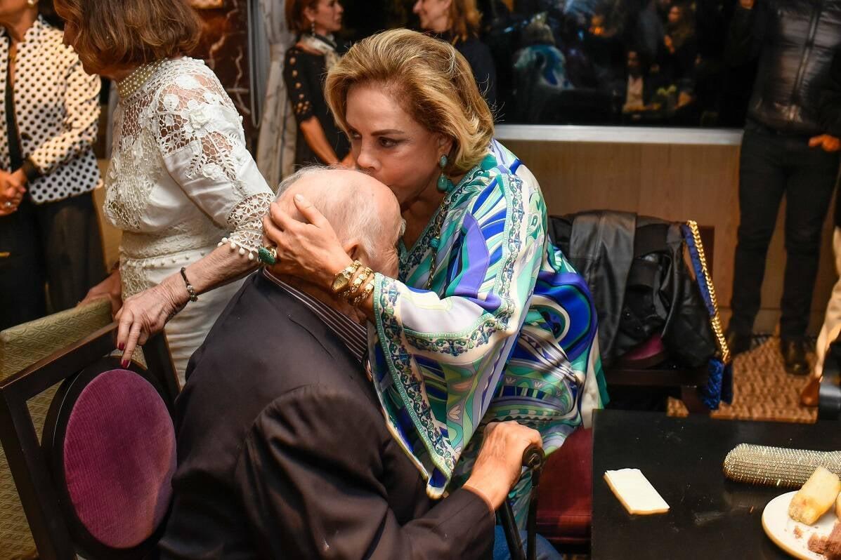 Mauro Mendonça e Regina Rique / Foto:  Mariama Prieto