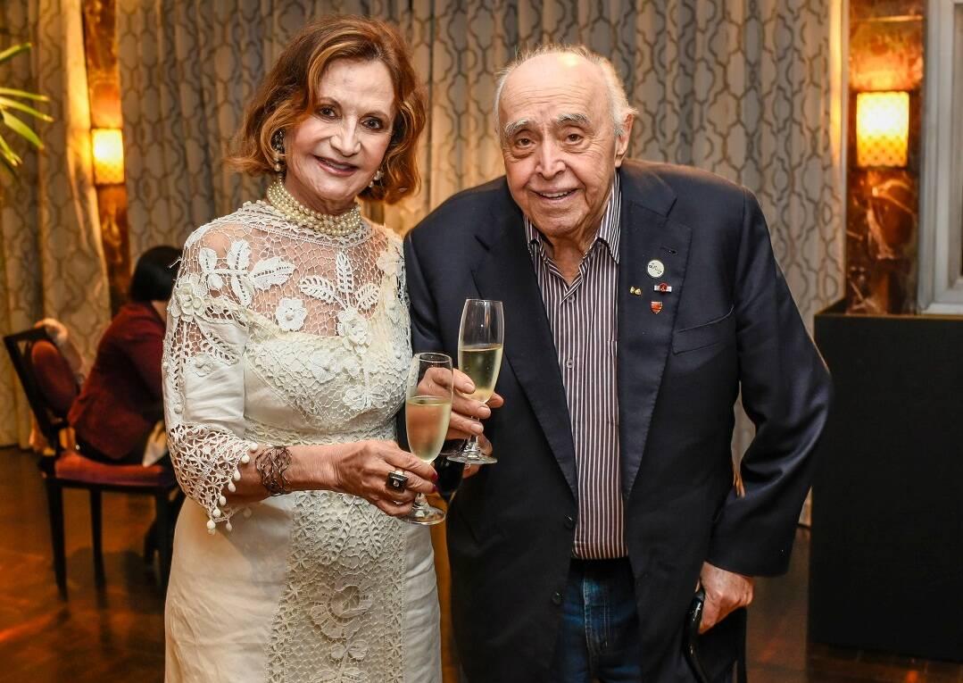 Rosamaria Murtinho e Mauro Mendonça / Foto:  Mariama Prieto