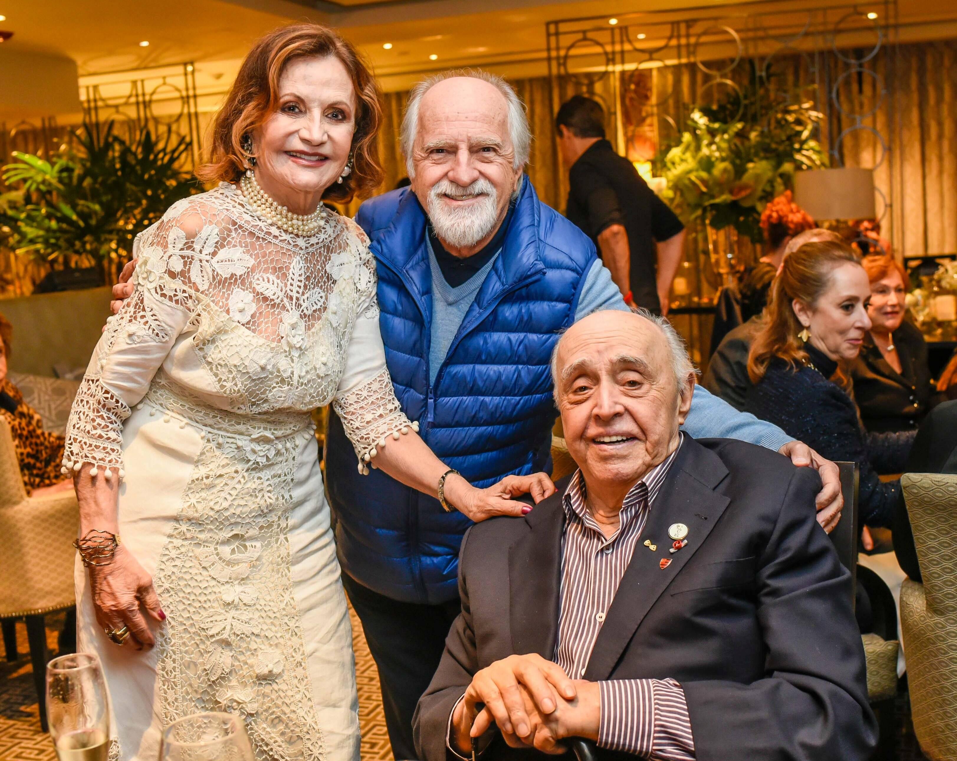 Rosamaria Murtinho, Ary Fontoura e Mauro Menonça / Foto:  Mariama Prieto