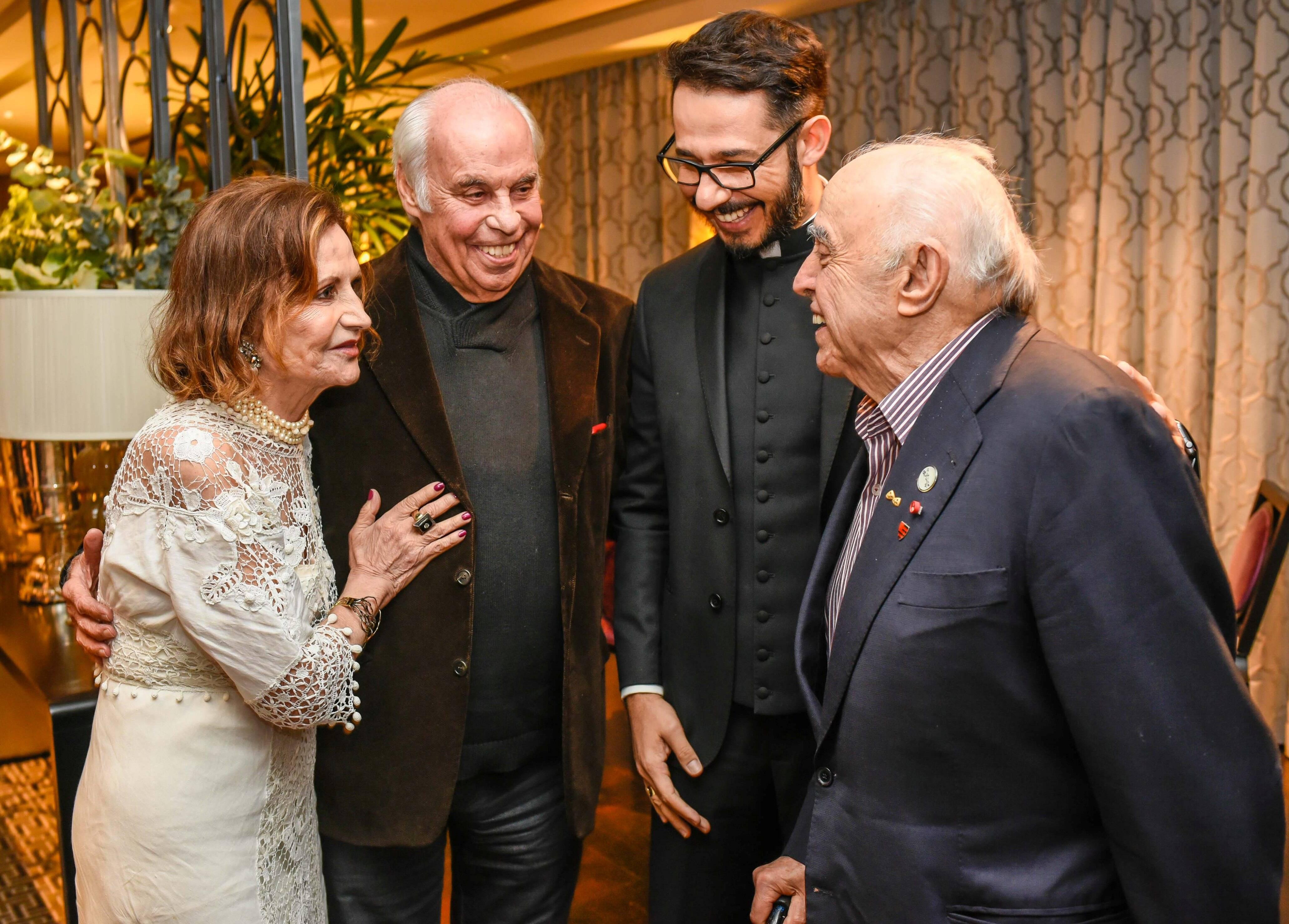 Rosamaria, Sergio Pereira da Silva, Renato Martins e Mauro Mendonça / Foto:  Mariama Prieto