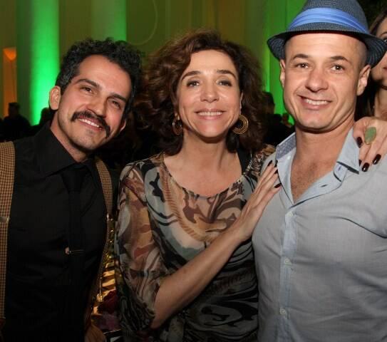 Felipe Pilotto, Marisa Orth e Dalua