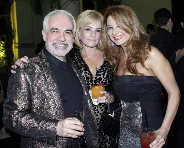 José Henrique Polotto, Gisele e Cris Senna