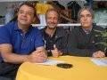 """""""SOCIEDADE HÍPICA BRASILEIRA"""" — SERGIO CABRAL, MARCO ANTONIO ALENCAR E CARLOS PALERMO: DE OLHO NAPISTA DE OBSTÁCULOS/Foto: Alexandre Vidal"""