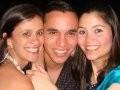 """SUSHI LEBLON"" —GISELE PICCIANI, CÉSAR BRAGA E JULIANA FERRAIOLO/Foto: Isabela Menezes"