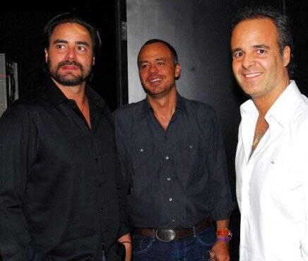 """""""DISCO"""" — DINHO DINIZ, MARCOS CAMPOS E MARCELO MELLO /Foto: Nelson Peixoto"""