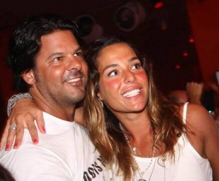 """""""IATE CLUBE DE SANTOS"""" — RUY MARCO ANTONIO FILHO E CAROLINA /Foto: Marina Malheiros"""