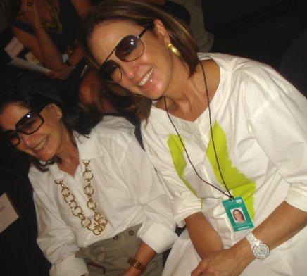 """FASHION RIO: SEGUNDO DIA"" — GLORIA KALIL E REGINA MARTELLI /Foto: Dani Barbi"