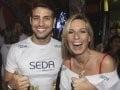 """""""FESTIVAL DE VERÃO DE SALVADOR"""" — CAUÃ REYMOND E MARIANA WEICKERT: SINAL TOTALMENTE POSITIVO PARA A ANIMAÇÃO /Foto: Fred Pontes"""