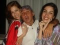 """FESTA REGINA MARTELLI"" — MICHAEL KOELLREUTTER COM AS LINDAS MARCELA ROSA E LUIZA PONTES"