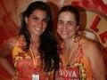 """""""CAMAROTE NOVA SCHIN"""" — LUIZA ESPINA E A CHEF ANDREA TINOCCO /Foto: Vera Donato"""