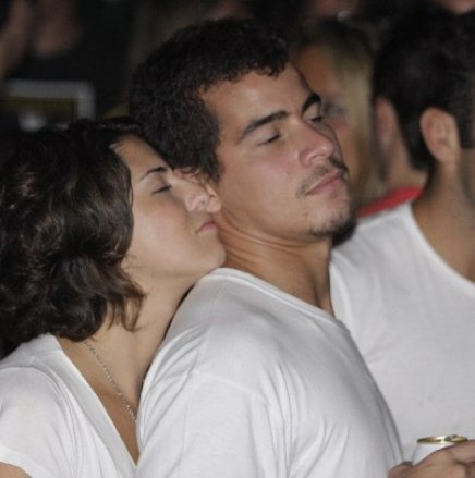 """""""CITIBANK HALL"""" — FERNANDA PAES LEME E THIAGO MARTINS EM CLIMA DE ROMANCE /Foto: Fred Pontes"""