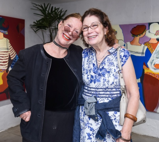 Abigail Vasthi e Marilena Paz