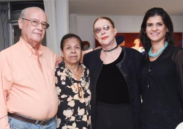 Jorge Roberto, Aram Tarsis, Abigail Vasthi e Rosana Maria