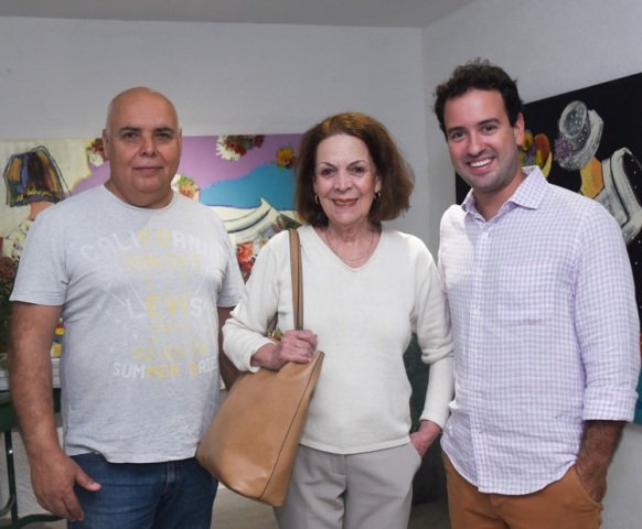 José Bento, Norma Braga e Rodrigo Sobral
