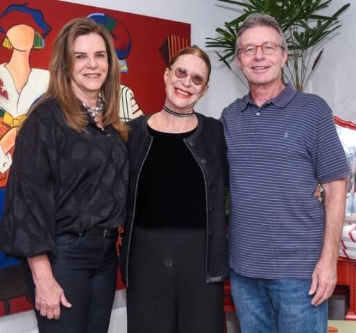 Lilian Novaes, Abigail Vasthi e Paulo Novaes