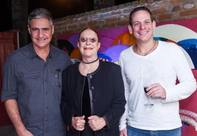 Toni Oliveira, Abigail Vashti e Rodrigo Goecks