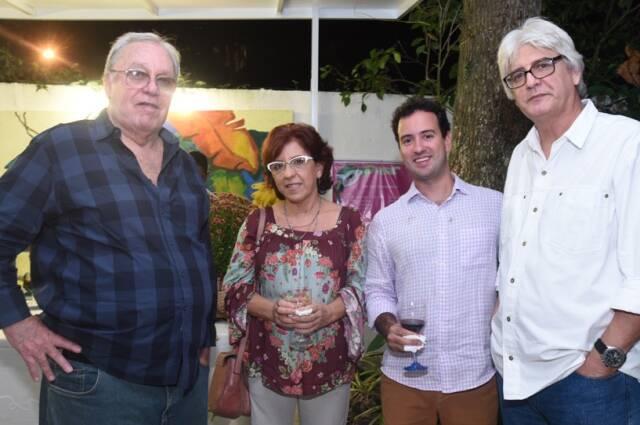 Udo Schlemm Vasthi, Regina Venâncio, Rodrigo Sobral e Sidney Venâncio