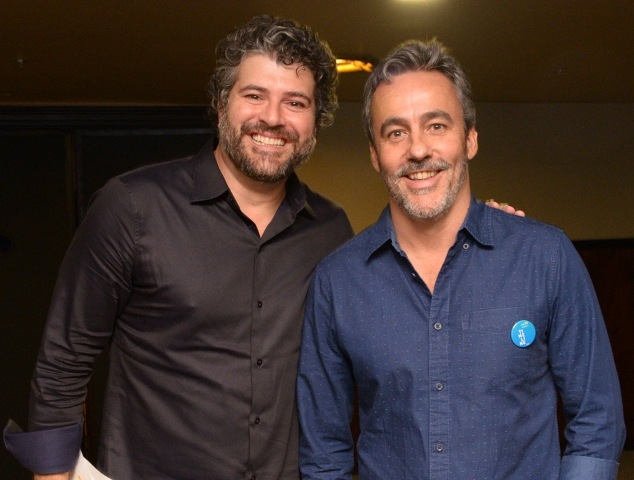 Álvaro Rodrigues e André Kassu