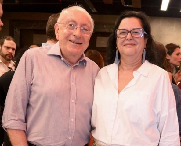 Armando Strozenberg e Flávia Flamínio