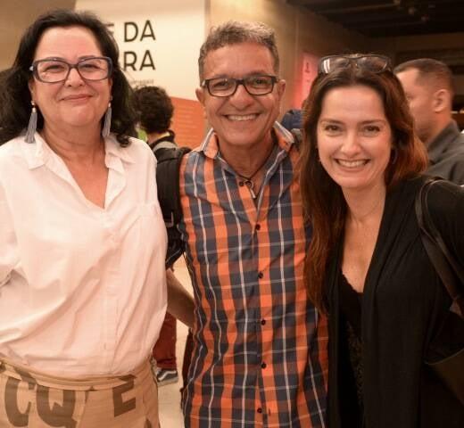 Flávia Flamínio, Antônio Jorge Pinheiro e Claudia Penteado