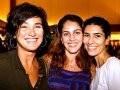 """""""INAUGURAÇÃO ISABELA CAPETO"""" — ANDREA PRADO, ROBERTA VIEGAS E ANTONIA BERNARDES"""