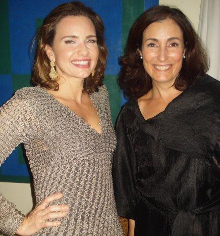 """""""ANIVERSÁRIO NANDO GRABOWSKY"""" — ADRIANA MATTAR E ANA MARIA CAMURRI"""