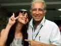 """""""4º CINEPORT"""" – HELENA IGNEZ, A ARIZ HOMENAGEADA DO EVENTO, COM O CINEASTA NEVILLE D'ALMEIDA /Foto: Cristina Granato"""
